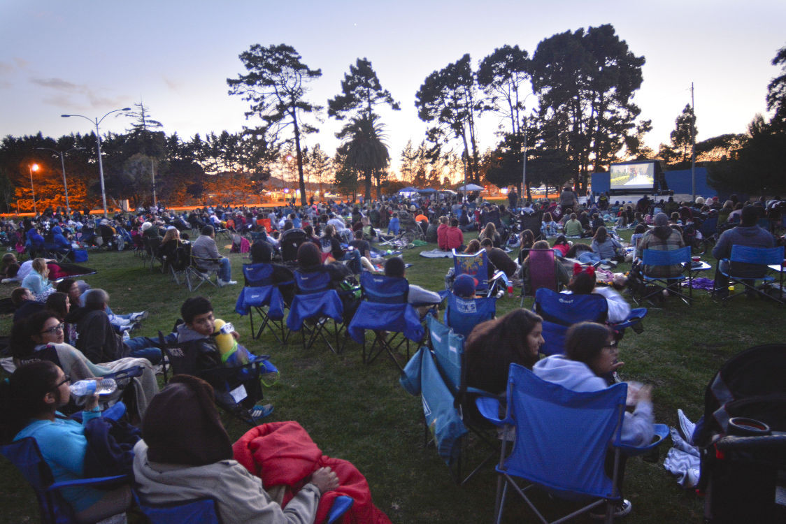 'Movies Under the Stars' at Ryon Park