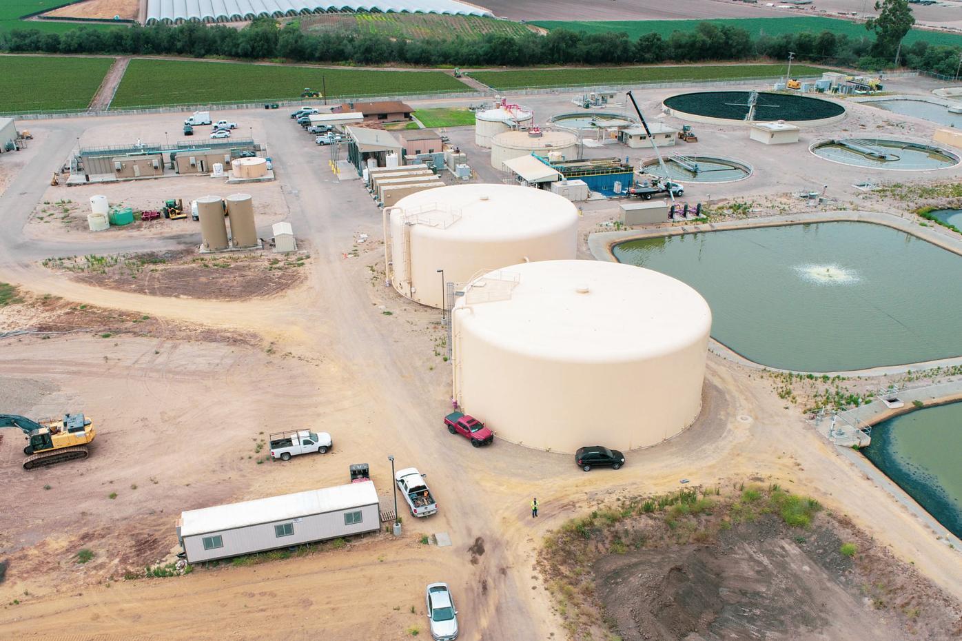 Laguna County Sanitation District plant aerial