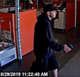 Lompoc Police ask for public's help ID'ing Home Depot thief