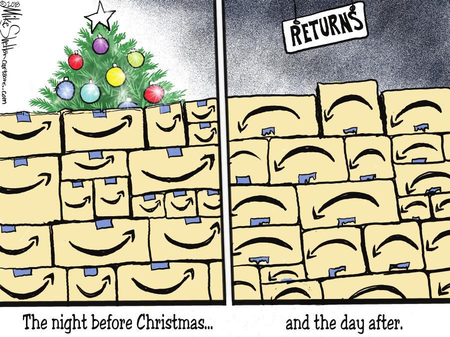 Cartoon: Unhappy returns