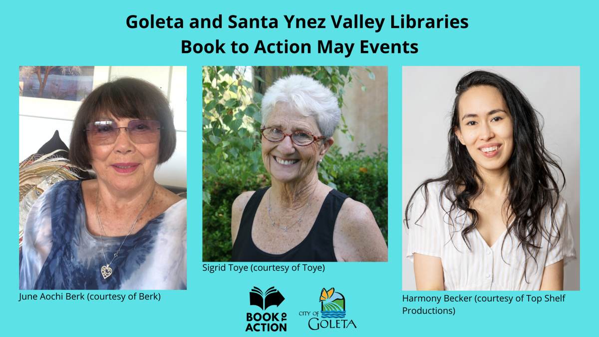 Book to Action May Events