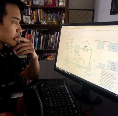 Cameron Wong, mechanical engineering, Cal Poly