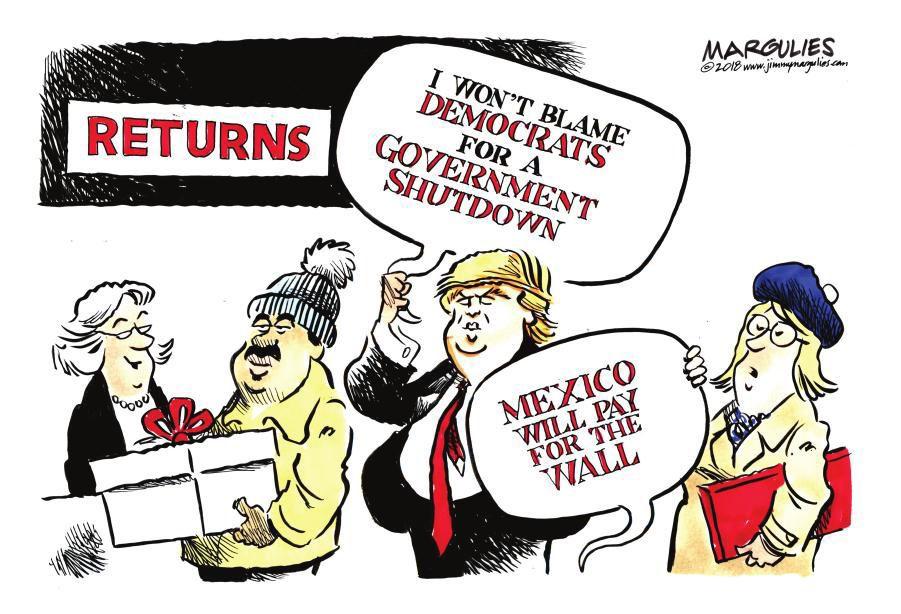 Cartoon: Statement returns