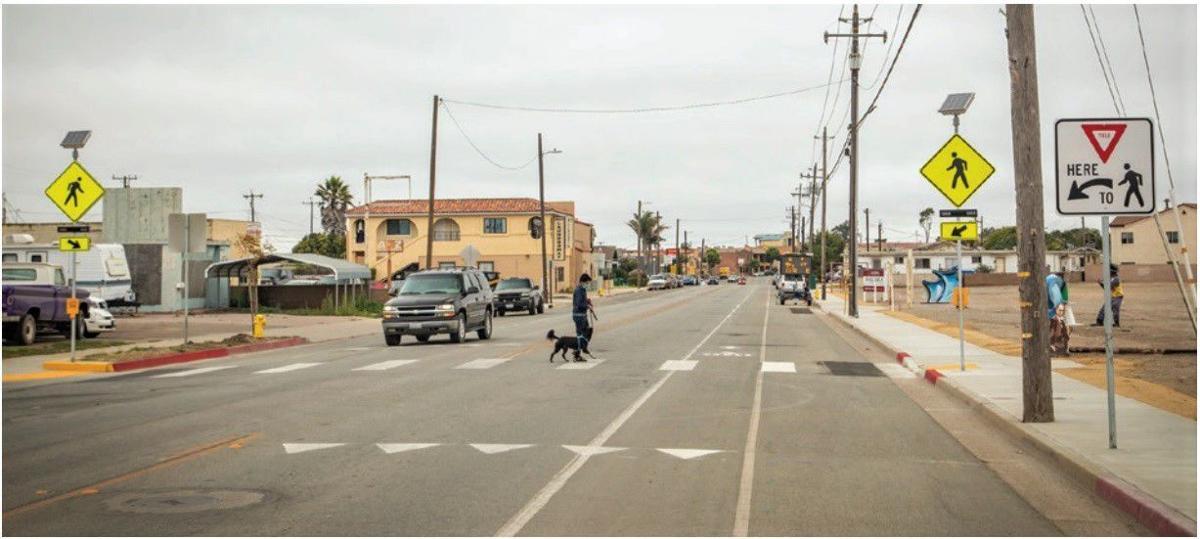 Guadalupe pedestrian improvements