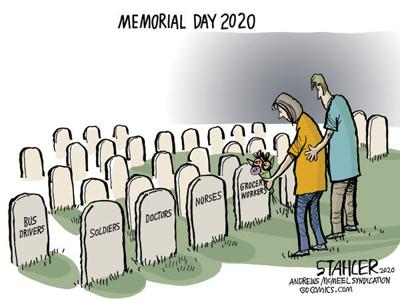 Editorial Cartoon: Memorial Day 2020