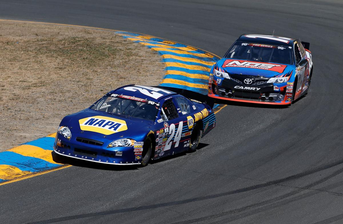 Pandemonium On The Track At Sonoma Elliott Stern