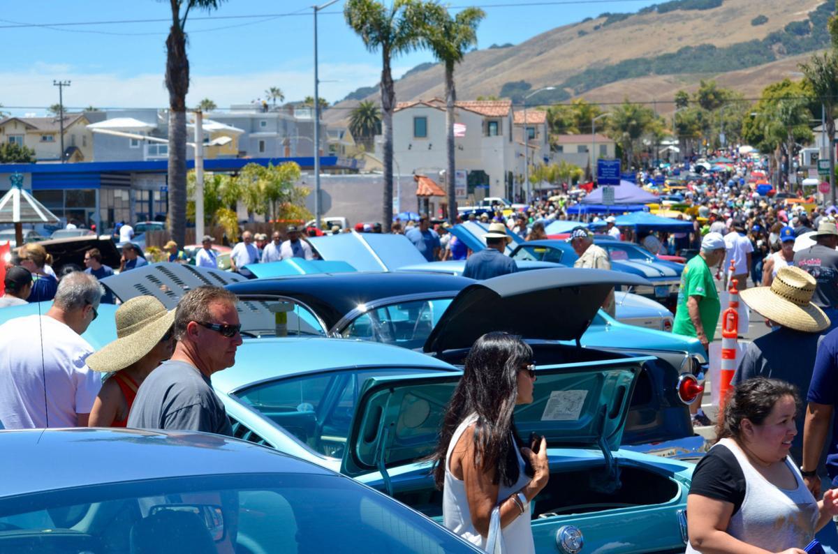 Pismo Beach Car Show Wheels Into Town For Weekend Local News - Pismo beach car show