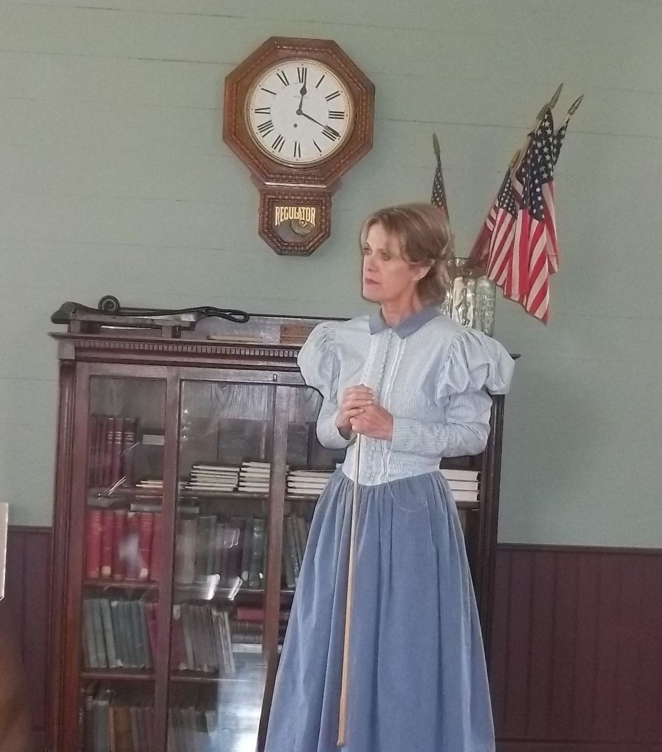 Tina McEnroe Conducts A Class At Pleasant Valley School In Buellton.