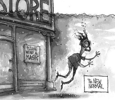 Editorial Cartoon: Masks