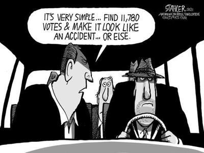 Editorial Cartoon: Accident
