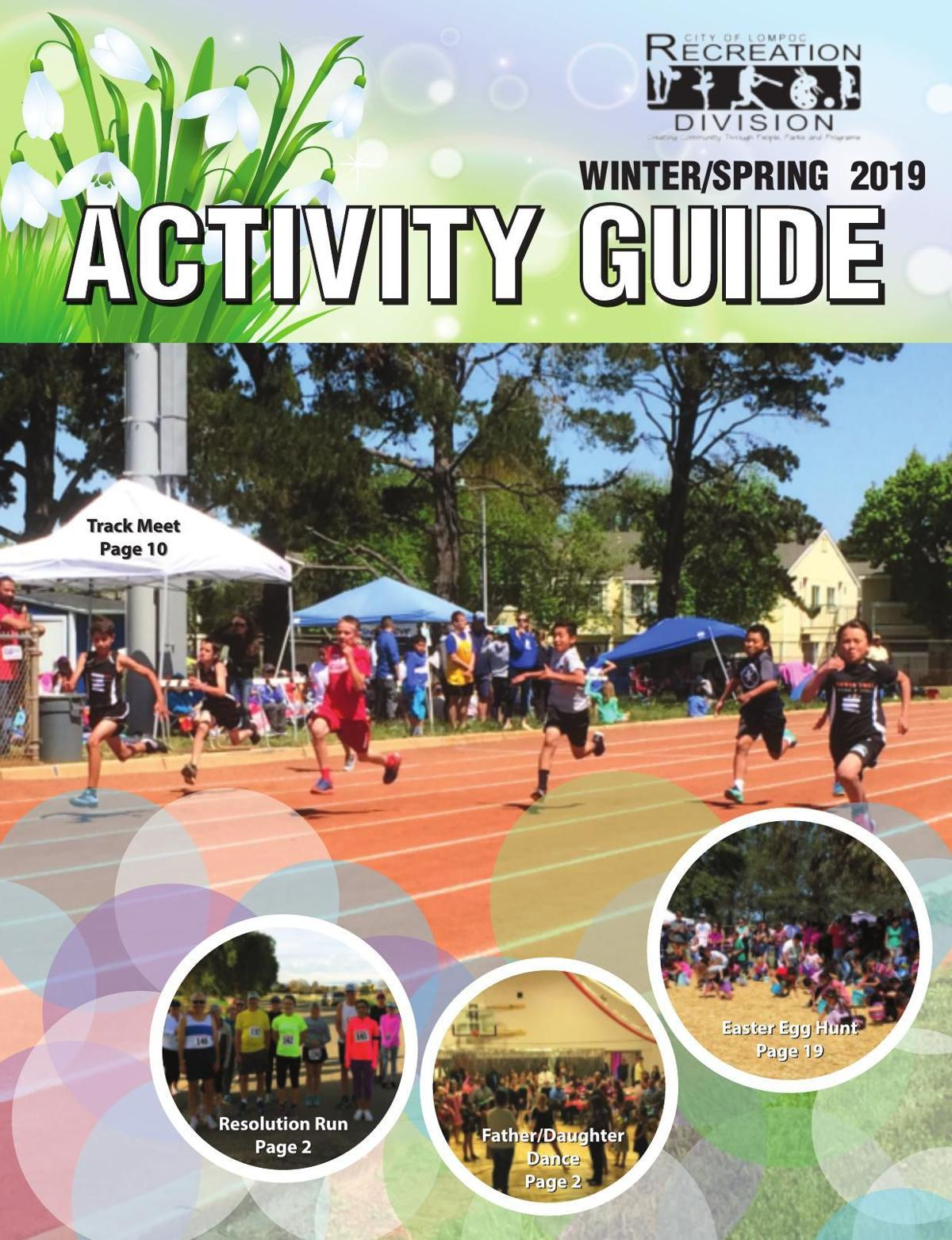 City of Lompoc Recreation Division Winter/Spring Activity Guide