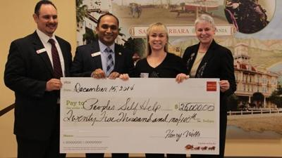 Wells Fargo donates $25K to Peoples' Self-Help Housing | Our