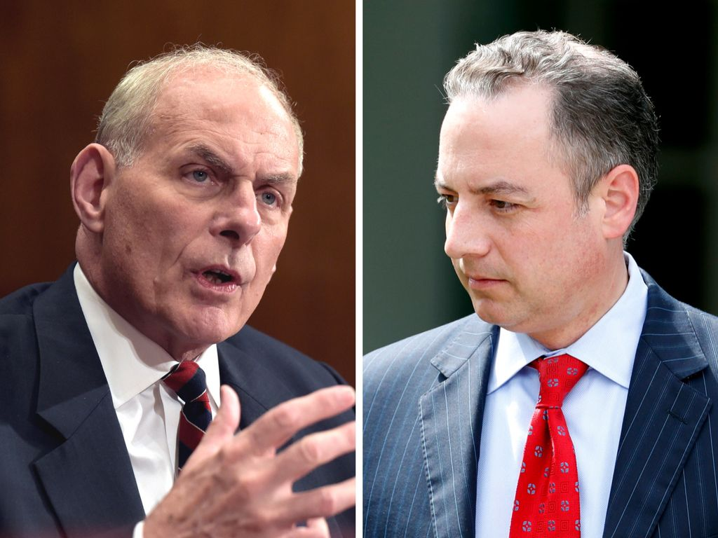 Priebus out as chief of staff, Trump names Kelly as replacement