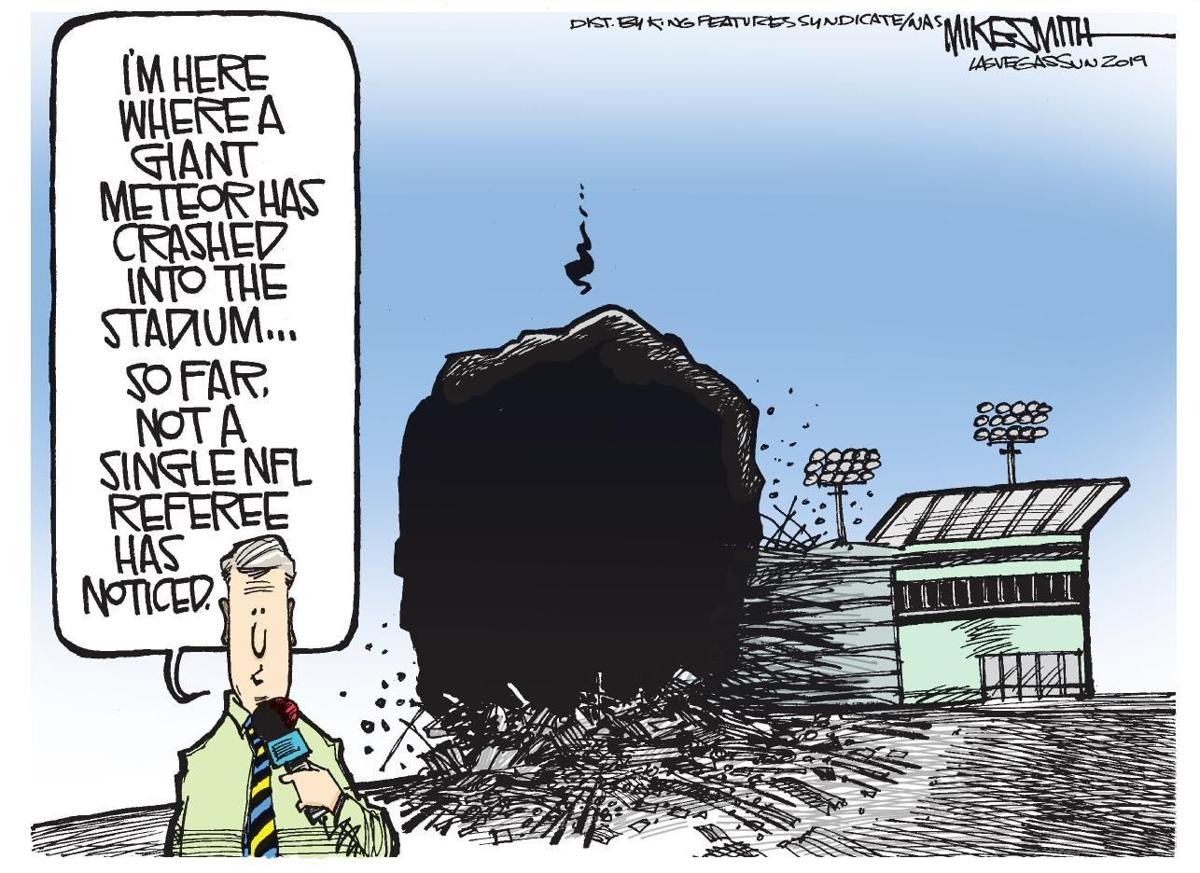 Cartoon: Refs miss another