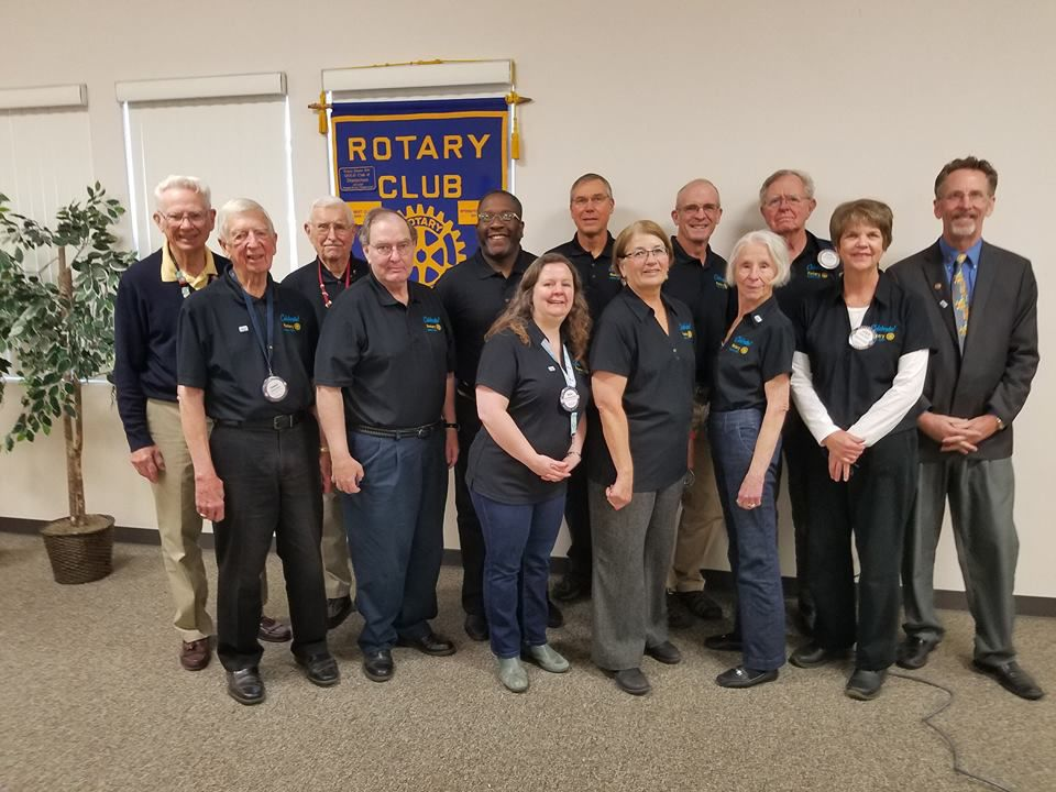 Members of the Rotary Club of Vandenberg Village.
