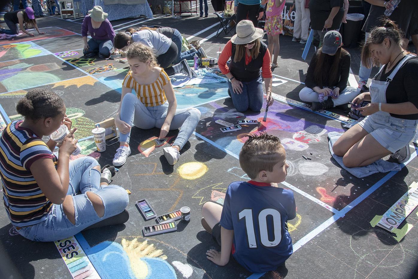 Photos: Chalks Festival celebrates Lompoc's art scene