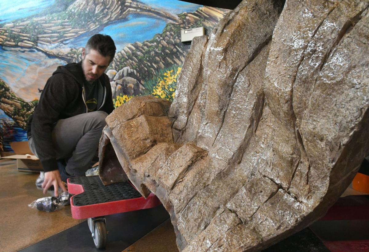 Installation of new Cabrillo High Aquarium exhibit nears completion; unveiling canceled