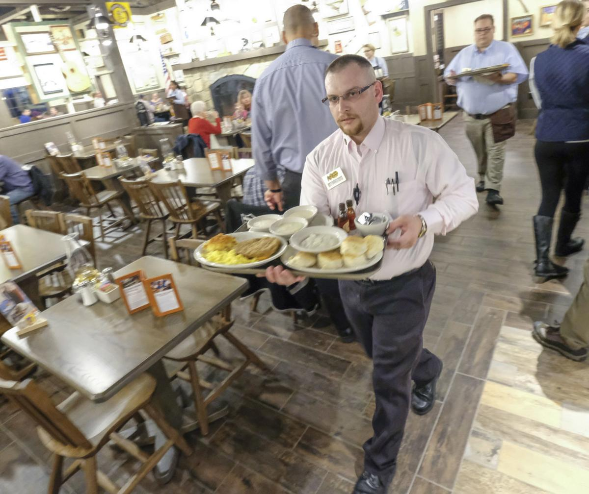 Photos: Cracker Barrel in Santa Maria opens up for breakfast