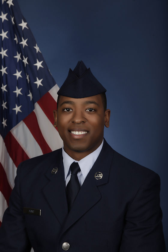 In the Military -- Airman 1st Class Zachary X. Fort