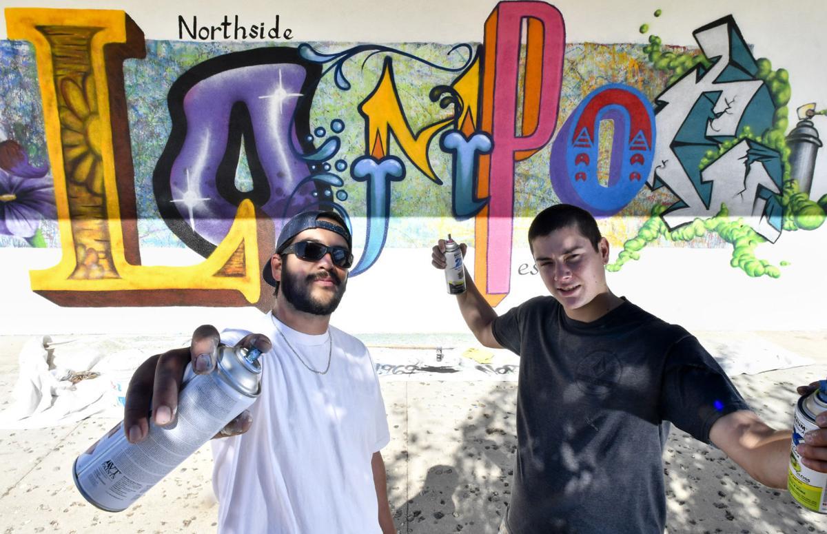 Graffiti style mural brings vibrant art to northern lompoc