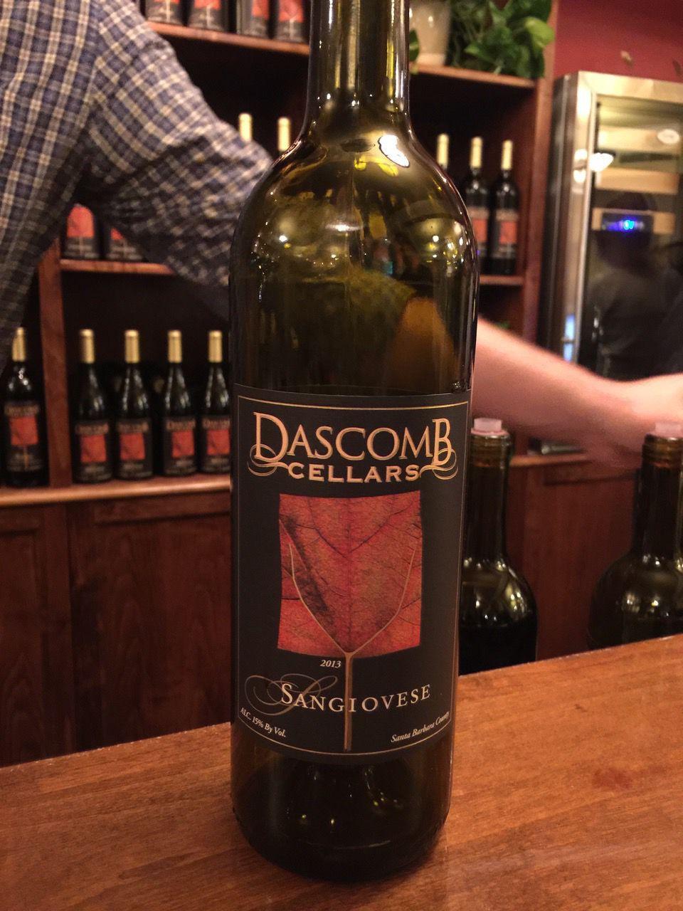 Dascomb Sangiovese