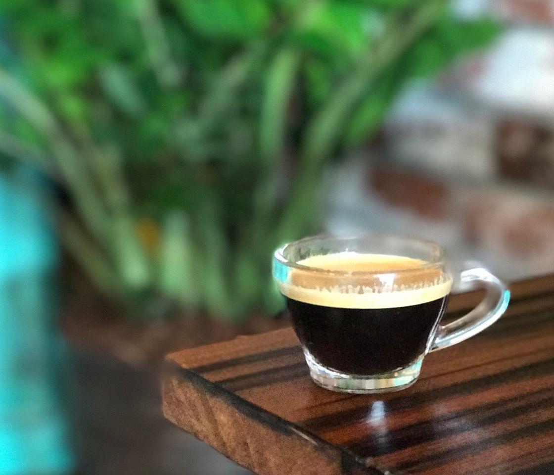 Cafe Cubano -- a Cuban coffee staple.