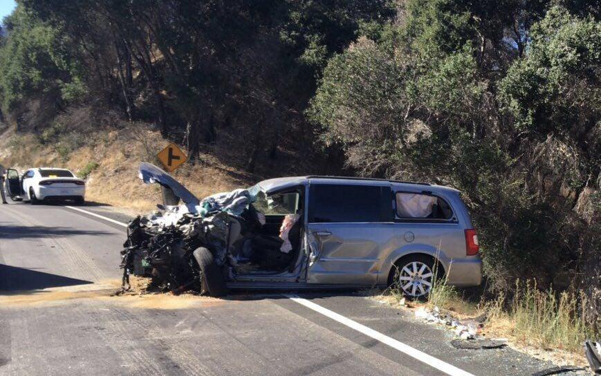 Hwy. 154 Head-on collision