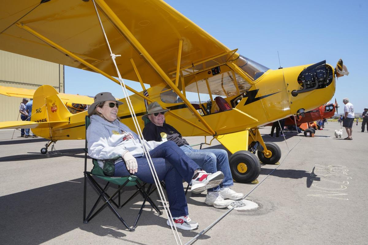 Fly Me to the Moon!: Vintage Piper Cub airplanes converge on