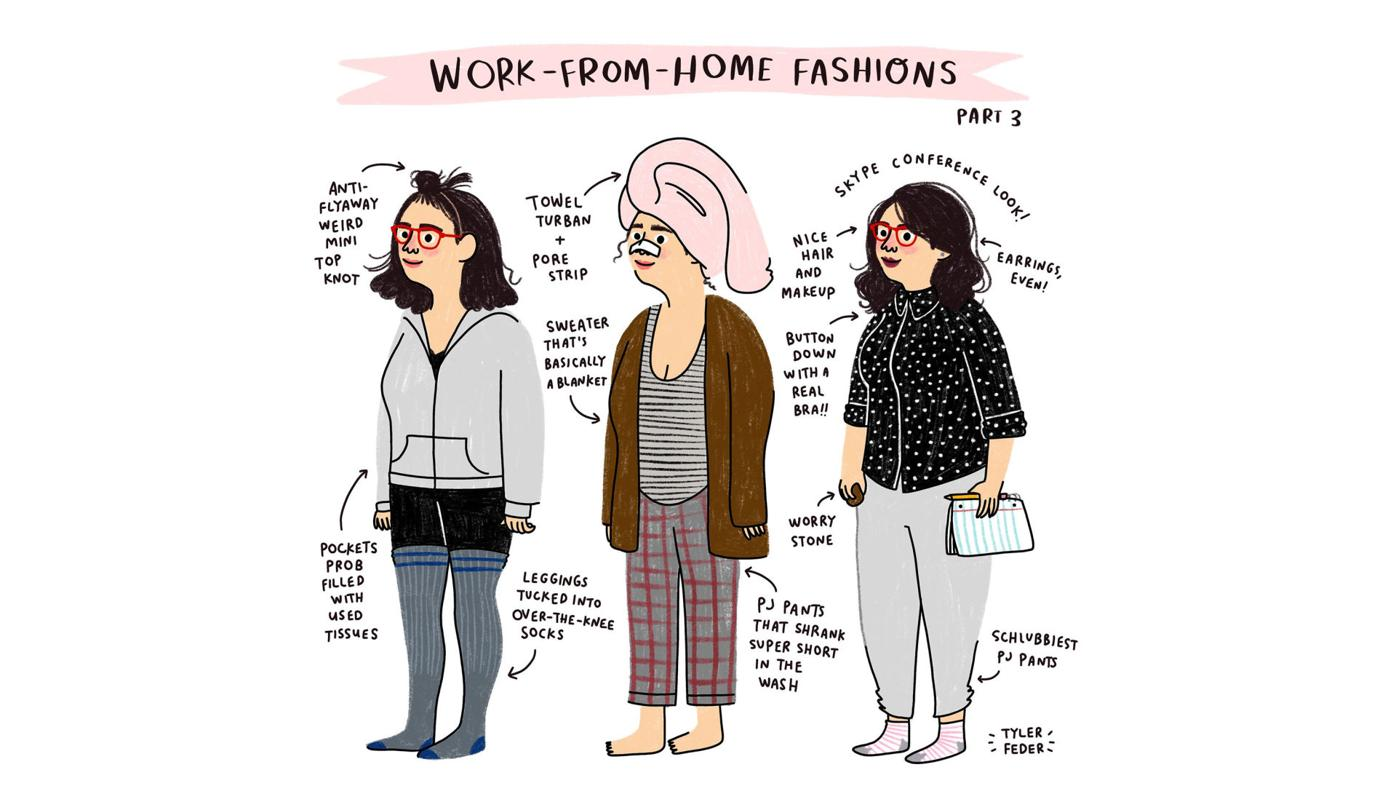 Work from home fashions
