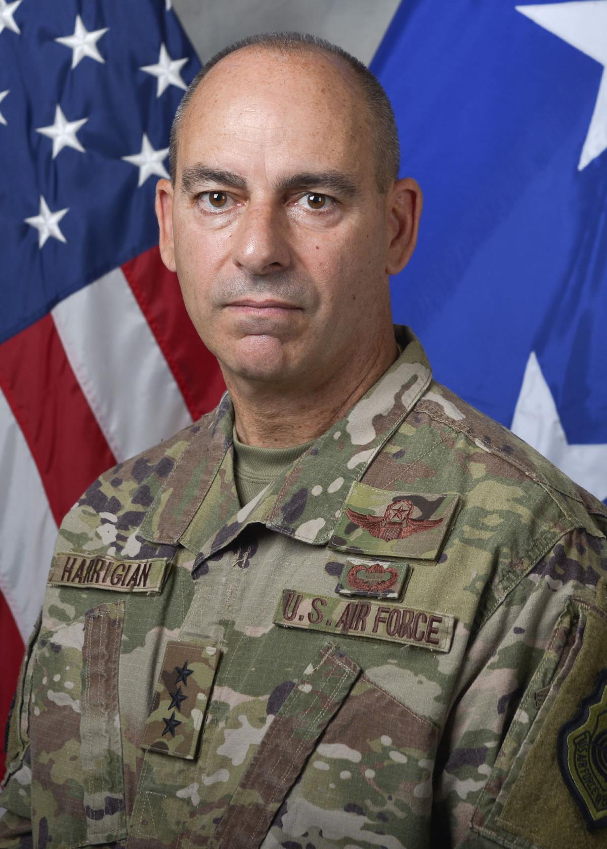 Official Photo of U.S. Air Force Lt. Gen. Jeffrey L. Harrigian