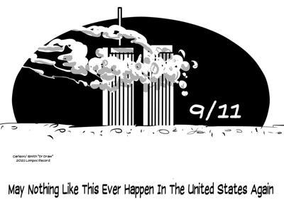 Editorial Cartoon: Never again