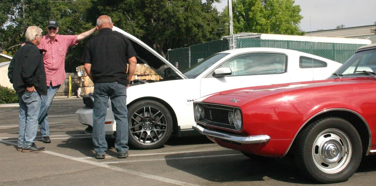 Car People Gather On Sundays For Coffee Conversation At Solvang