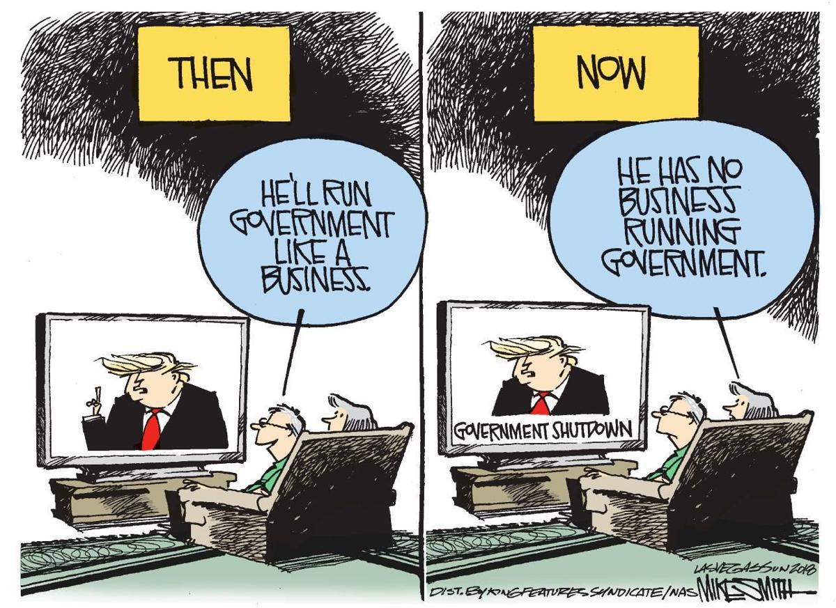 Cartoon: Trump and business