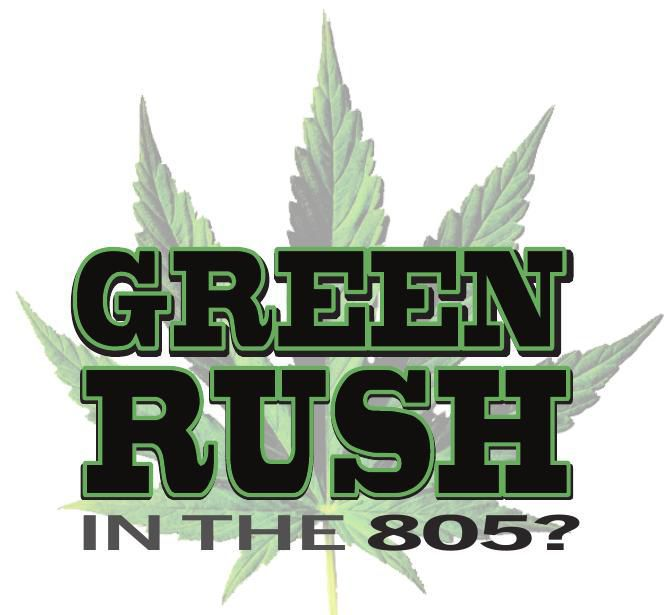 GREEN RUSH series logo