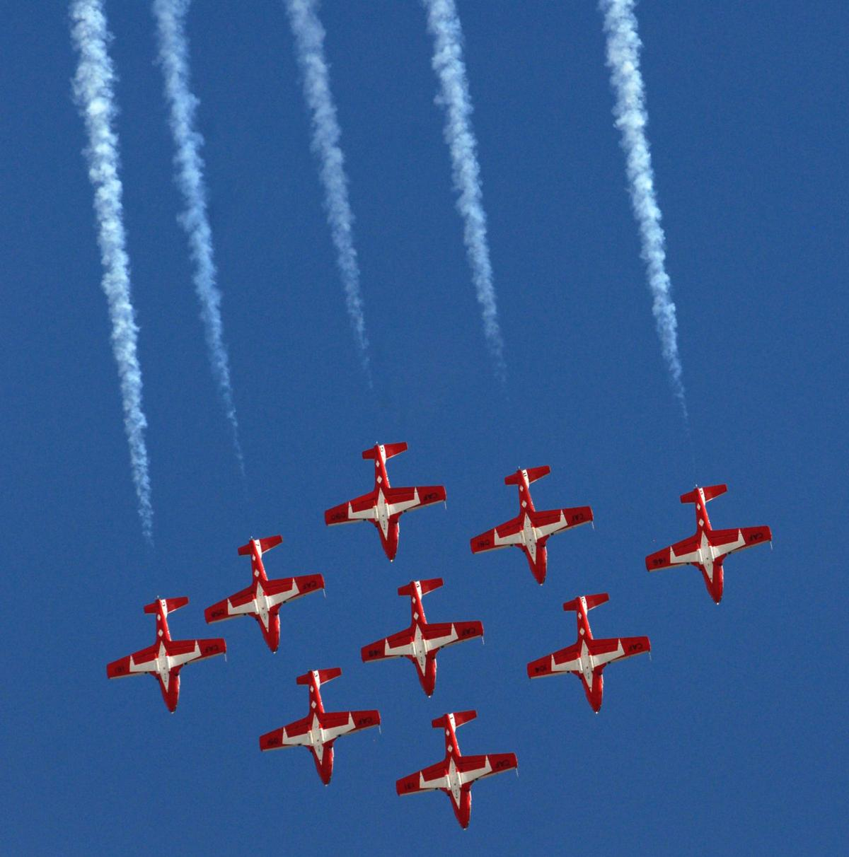Canadian Force's Snowbirds