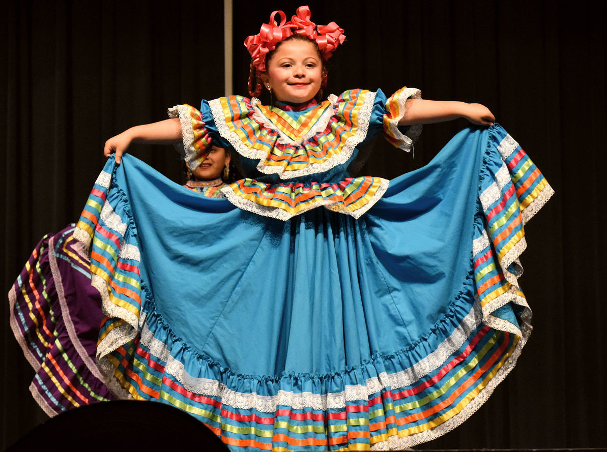 Photos: Area schools present Ballet Folklorico dances at Santa Maria High