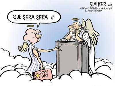 Cartoon: 'Que sera sera ...'