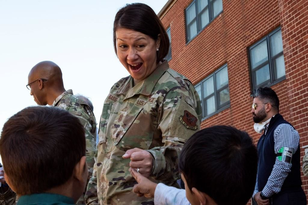 Chief Master Sergeant of the Air Force JoAnne Bass