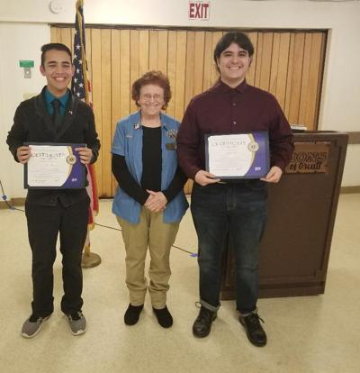 Sam Ricci advances in Student Speakers Contest