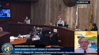 Barney Melekian discusses cannabis ordinance amendments