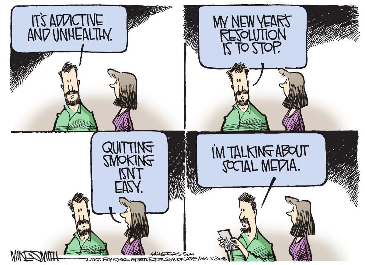 Cartoon: New Year's resolution