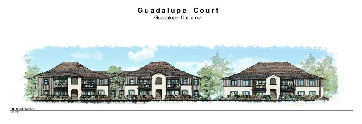 Guadalupe Court 2014 3-D rendering