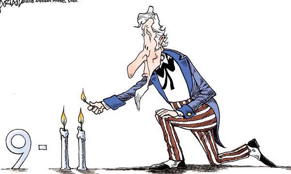Cartoon: Never forget