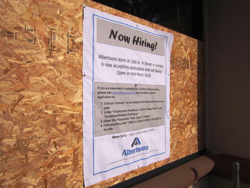 Albertsons nearing return to Lompoc market   Local News