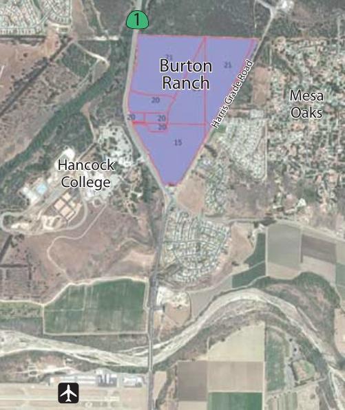 Burton Ranch map