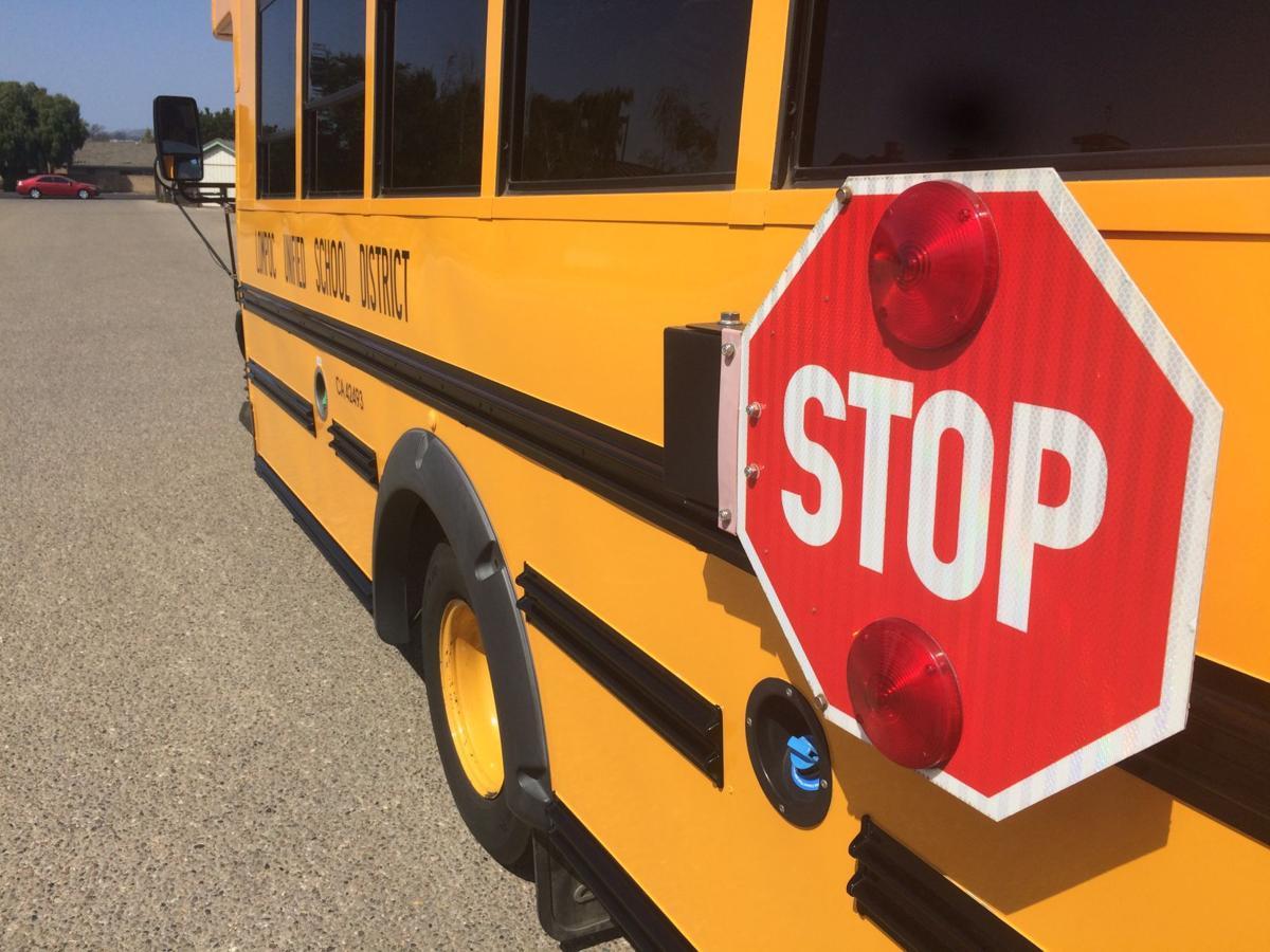 082517 school bus stop sign