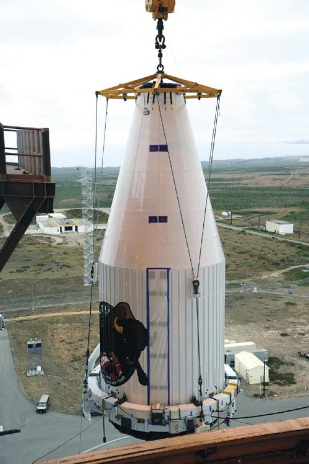 Top-secret spacecraft set for launch