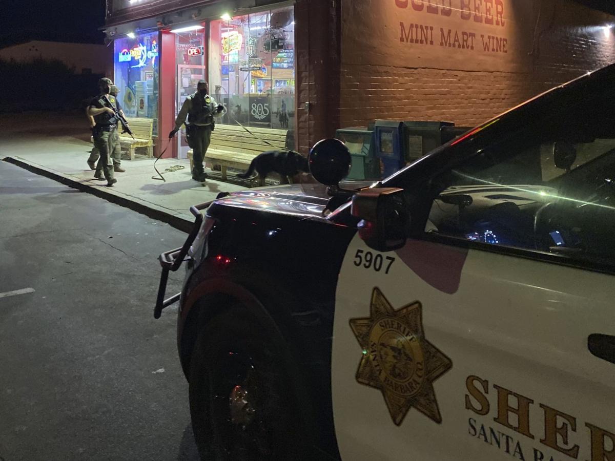 Buellton robbery suspect search
