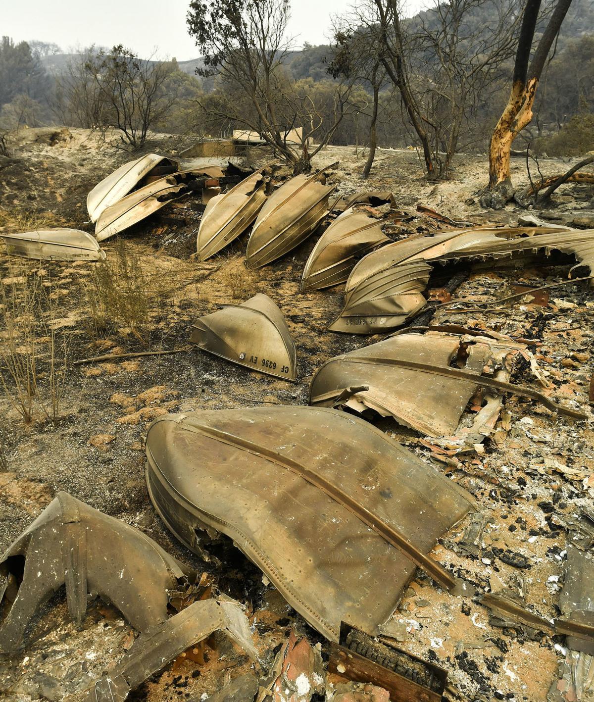 070717 Rancho Alegre's melted boats