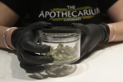 Virus Outbreak California Marijuana